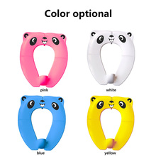 Baby Upgraded Toilet Seat Portable Anti-Splash Pad Toddlers Foldable Travel Toilet Seats Cover Infant Potty Pads Potty Training