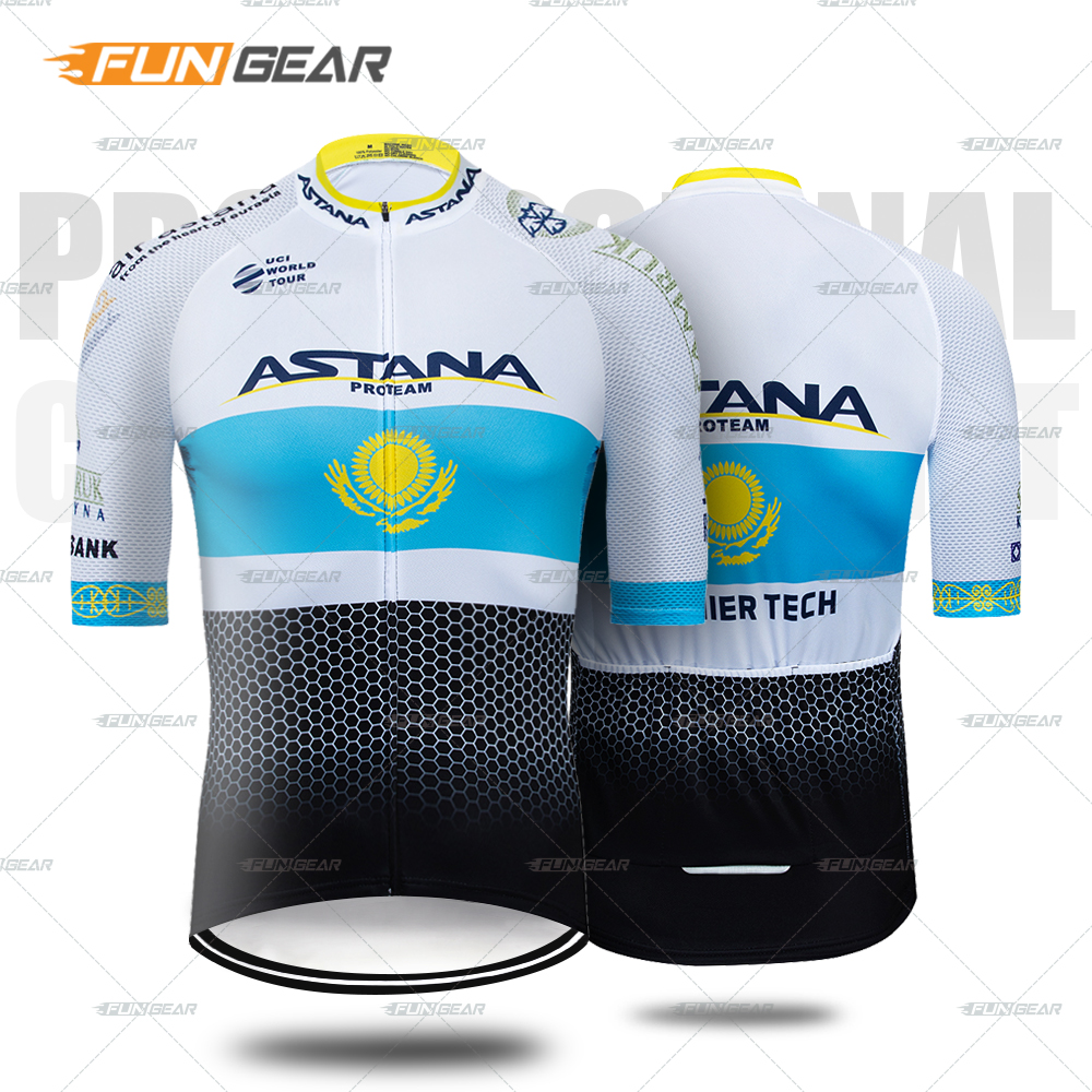 Pro Team Cycling Jersey Breathable New Bike Short Sleeve Jersey Road Bicycle MTB Biking Men Shirt Kit Triathlon Summer Downhill in Cycling Jerseys from Sports Entertainment