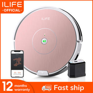 ILIFE Robot-Vacuum-Cleaner Powerful Wall-Cleaning Electronic Plus NEW Suction A80 App-Control