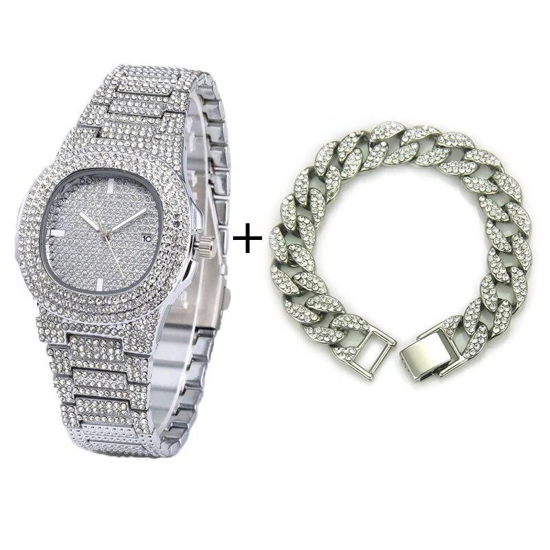 Silver Watch Bracelt