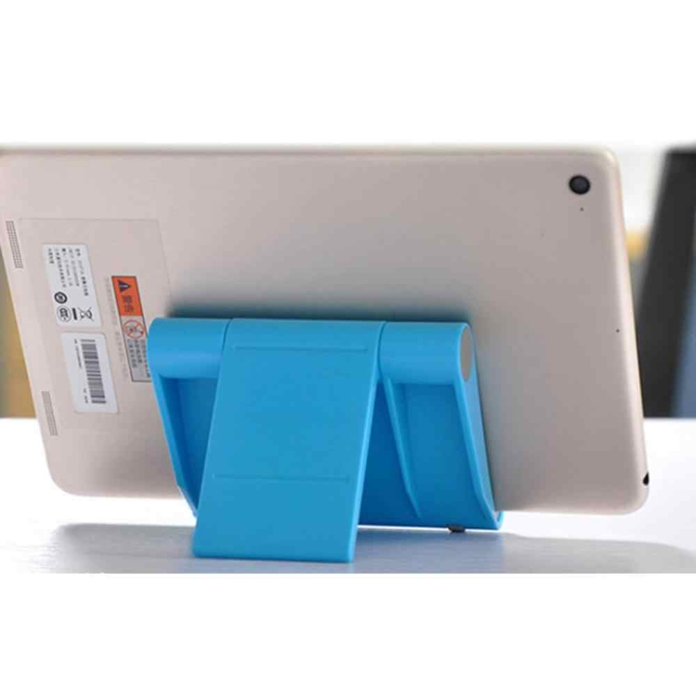 Pemegang Telepon Desktop Multi-Fungsi Memutar Universal Tablet Dasar Lipat Malas Braket Ponsel dengan Malas Ponsel
