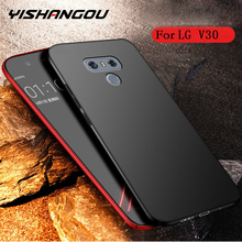 YISHANGOU Phone Case For LG V10 V20 V30 G3 G4 G5 G6 G7 Hard Plastic Matte Cases For LG G7 Q6 Q7 Q8 Full Cover Protective Coque(China)