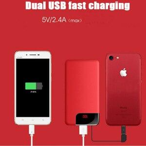 Image 4 - 10000mah batterie externe batterie externe appauvrbank 2 USB Powerbank Portable chargeur de téléphone Portable pour