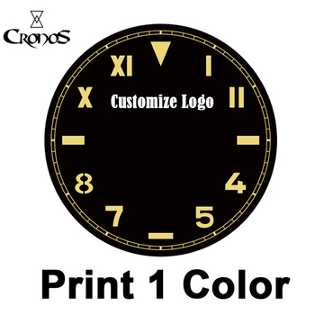 Cronos Watch Customize Service Charge for Printing on Dial Surface or Engraviing Lasering Case Back - sale item Watches Accessories