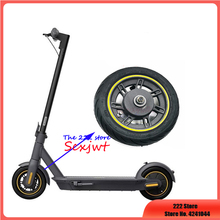 Original Front Wheel For Ninebot Max G30 Kickscooter 10inch Front Wheel Hub with Vacuum Tire Assembly Spare Parts Accessories