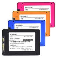 """RCESSD Metall 60GB240GB 120GB 480GB 960GB 1TB SSD 2,5 Festplatte Festplatte Disc Solid State Disks 2,5 """"Interne SSD128GB 256GB PC SSD"""