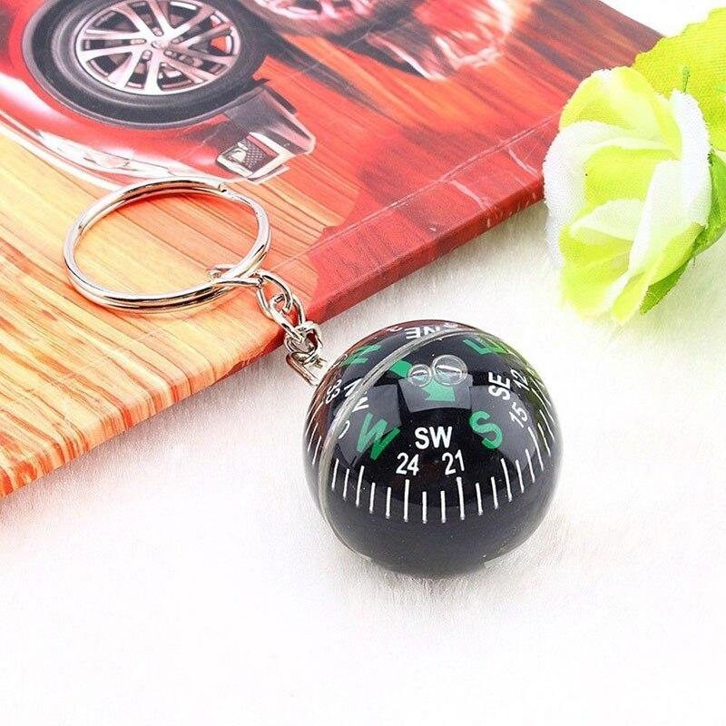 Мяч Брелок заполненный жидкий Компас для пешего туризма путешествия кемпинга на открытом воздухе выживания портативный многофункциональн...
