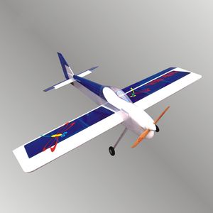 Image 1 - Single wing aircraft model oil model aircraft dragonfly 46   10