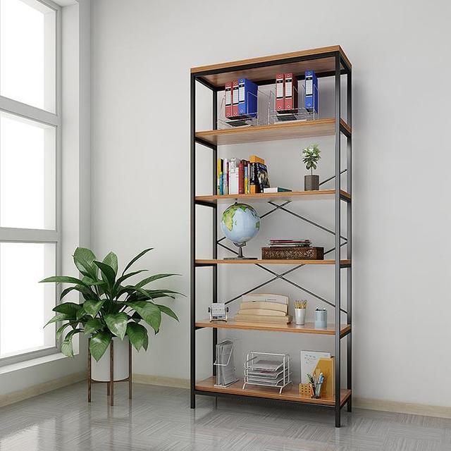5-tier Wooden Bookcase Bookshelf Storage Organizer Display Home Decor Rack  Furniture Boekenkast 3