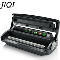 JIQI Commercial Food Vacuum Sealing Machine Vacuum Sealer Fresh Packaging Machine Food Packer with 10 Pcs Bags Free 220V 110V EU