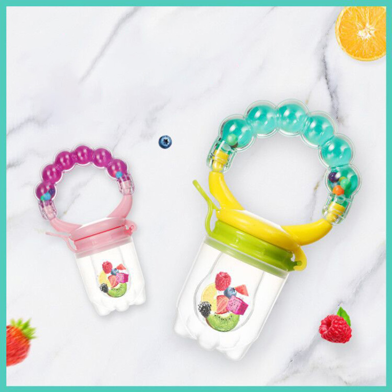 Baby Fresh Food Feedr Pacifier Clip Multicolor 23*40CM/29*40CM/33*44CM Soother Nipple Food Grade PP/Silicone Fruit Nipple