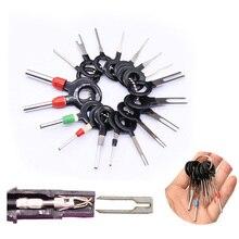 18 шт. автомобильный жгут проводов разъем извлечения палочки разъем Pin Удалить Набор инструментов WSH99