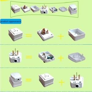 Image 5 - 10A/16A/25A 250v/440v 3 相 4 線式と単相 3 極diy工業用電源プラグソケット表面実装コンセント