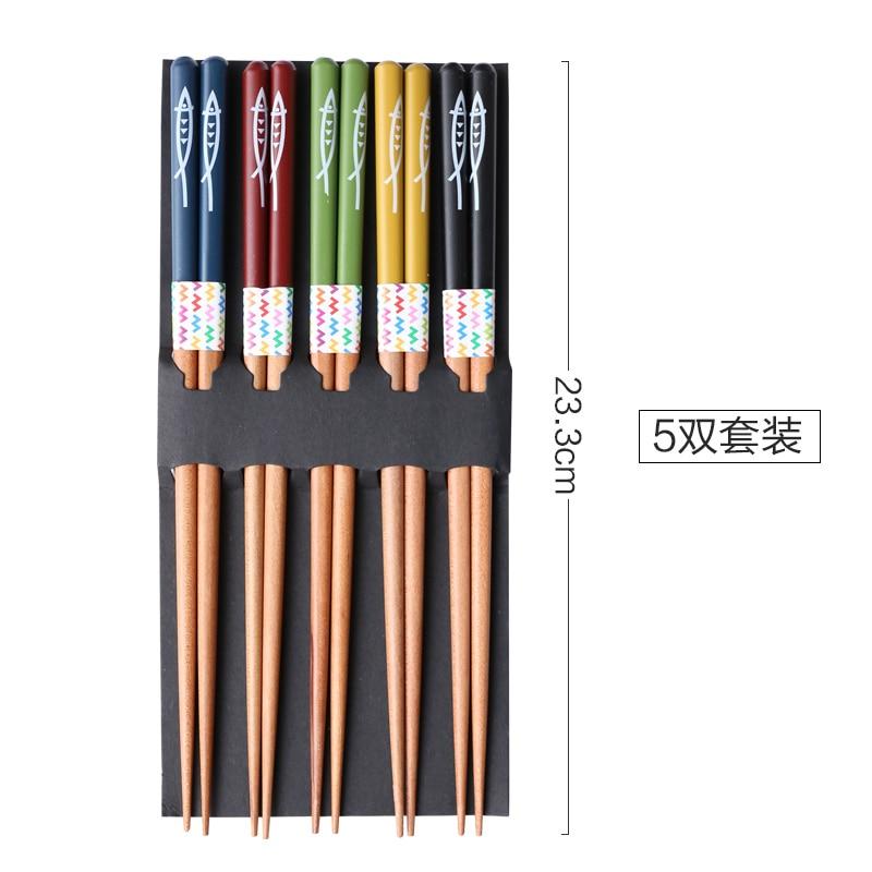 Купить японские деревянные палочки для еды saury домашние высококачественные