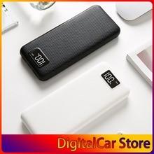 MY8 Power Bank Shell LCD Digital Display Dual USB Output Power Bank Charger Case DIY Kits Module 8pcs 18650 Battery Holder