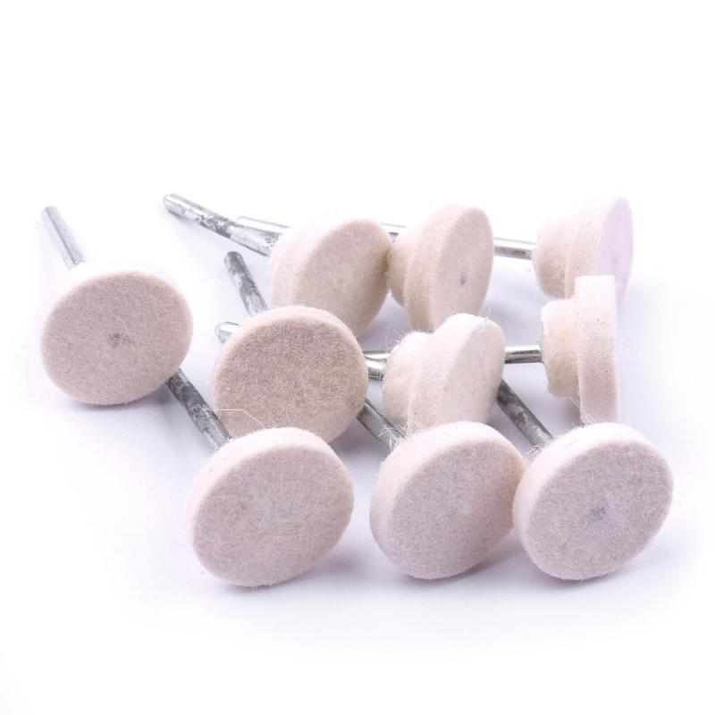 10pcs Car Styling Polishing Sponge Wheel Wool Polisher Free Shiipping Jewelry Diamond Polishing Pads