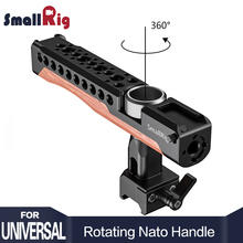 SmallRig Quick Release Rotating Nato Handle dslr camera handle stabilizer use as top and side 2362