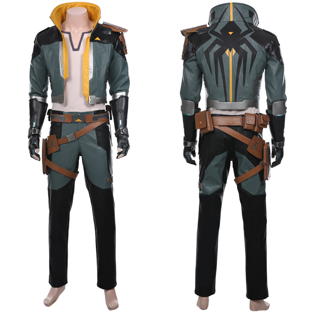 <font><b>Borderlands</b></font> Cosplay Zane <font><b>Costume</b></font> Adult Men Women Jacket Coat Uniform Suit Halloween Carnival Cosplay <font><b>Costumes</b></font> image