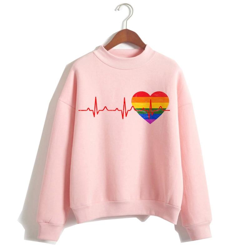 Женская толстовка с капюшоном lgbt Love Wins, Женская толстовка с надписью «love is love», модная повседневная одежда большого размера