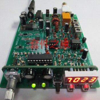 Rock Mite zestaw wersji PLL CW Transceiver Telegraph Radio krótkofalowe zestaw DIY