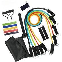 Equipment Fitness-Set Bodybuilding-Band-Accessories Exercise Resistance-Bands Elastics