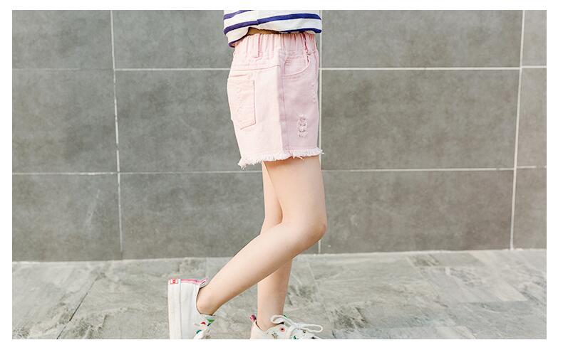 Meninas denim shorts 2020 novo verão adolescente