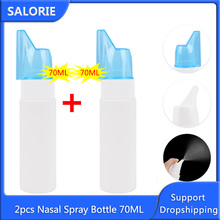 Spray-Bottle Neti-Pot Wash-Cleaner Nose-Care Cure Nasal Sinus Allergies for 70ml Pain-Relief