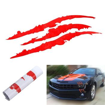 New Design Reflective Lamp Eyebrow Captivating Sports Vinyl Stickers Decoration Cartoon Auto Car Decor Racing Graphic U4Y5 image