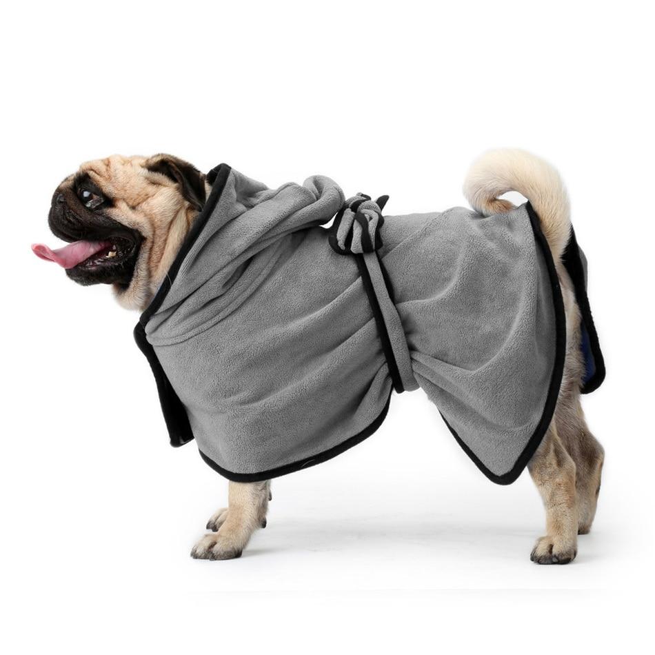Dog Bathrobe (9a)