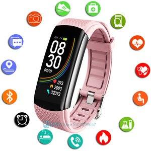 Image 1 - Moda spor akıllı saat kadın erkek Smartwatch spor izci bayanlar için Android IOS akıllı saat nabız monitörü akıllı izle