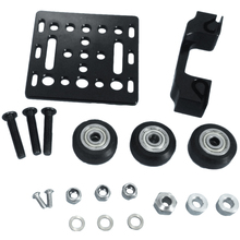 V-Slot Openbuilds X-Axis Slider Aluminum Plate + Timing Belt Buckle Wheels Set 2020 Profile Board 3D Printer Part