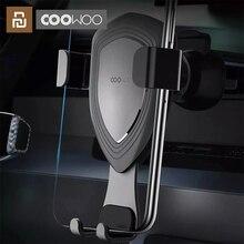 Xiaomi COOWOO inteligentny uchwyt samochodowy z czujnikiem grawitacyjnym obsługa jedną ręką uchwyt na telefon kompatybilny z wieloma urządzeniami