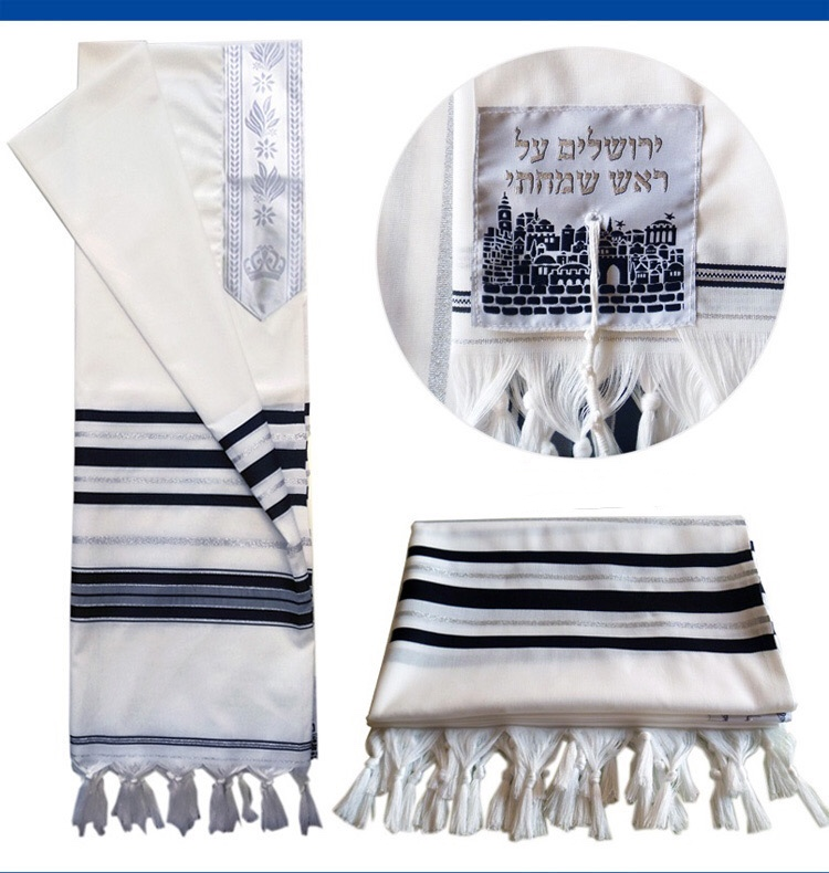Jewish Prayer Shawls National Costume And Dress Export To Israel High-quality Ins