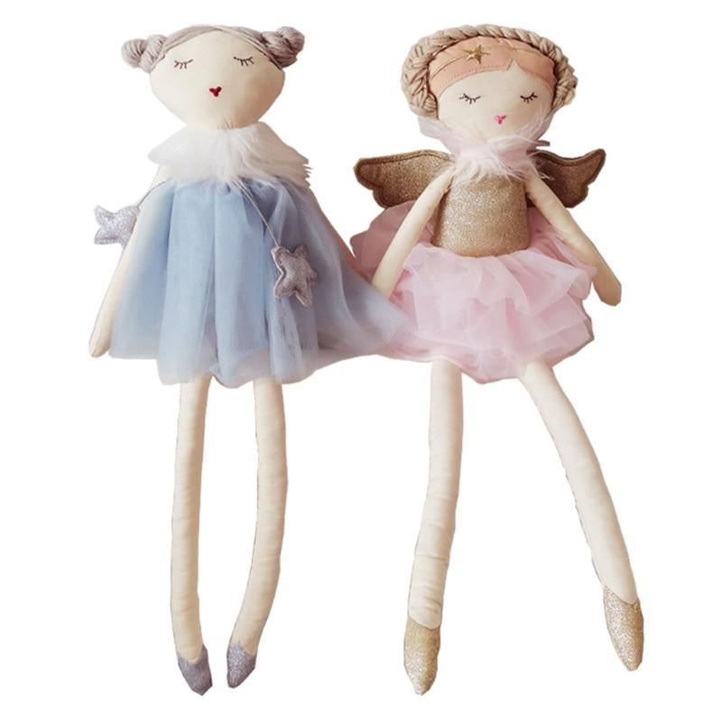 Baby kawaii Dolls Soft Newborn Sleeping Plush Toy Baby Appease Toy Girls Stuffed Gift Room Decoration Ornament