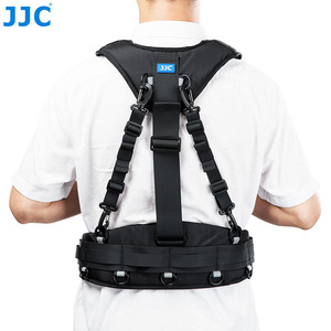 Image 3 - JJC Vest style Photography Belt & Harness System For JJC DLP Series, Lowepro S&F Series Lens Pouches For Canon Nikon Sony Pentax