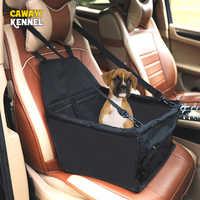 À prova dwaterproof água reforçada oxford pet portadores cão cobertura de assento do carro hammock esteira transporte para cães gatos perro hondentassen