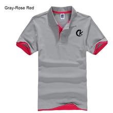 Summer 2020 Men's Short-sleeved Lapel T-shirt Multicolor Optional Letter Printing Pure Cotton Faddish Polo Shirt