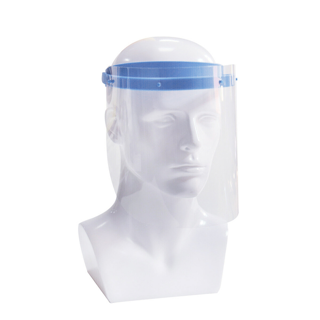Safety Full Face Protect Shield Detachable Clear Visor Cover With 10 Plastic Clear Protective Visor Anti-fog Transparent Mask 1