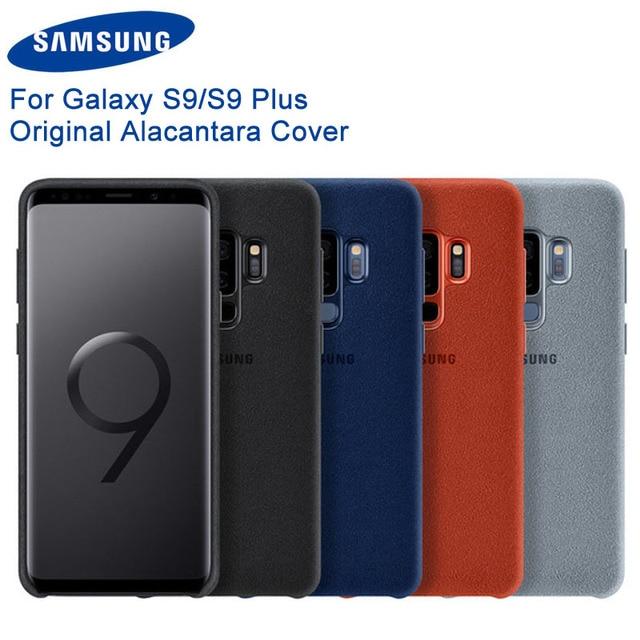 オリジナルサムスンアルカンタラファッション電話ケースカバーfundas coque 4サムスンギャラクシーS9 G9600 S9 + S9プラスg9650
