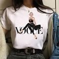 Vogue Fashion Summer T Shirt Women Tshirt New Vogue Tshirt Graphic Tee Cute Women T-shirt Female Tee Shirt 90s Girls Tee Tshirt