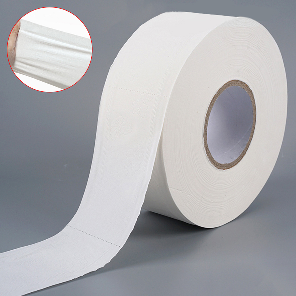 Large Roll Paper Toilet Paper Household Toilet Paper For Home Office Workshop Large Roll Of Toilet Paper For Companies And Hotel