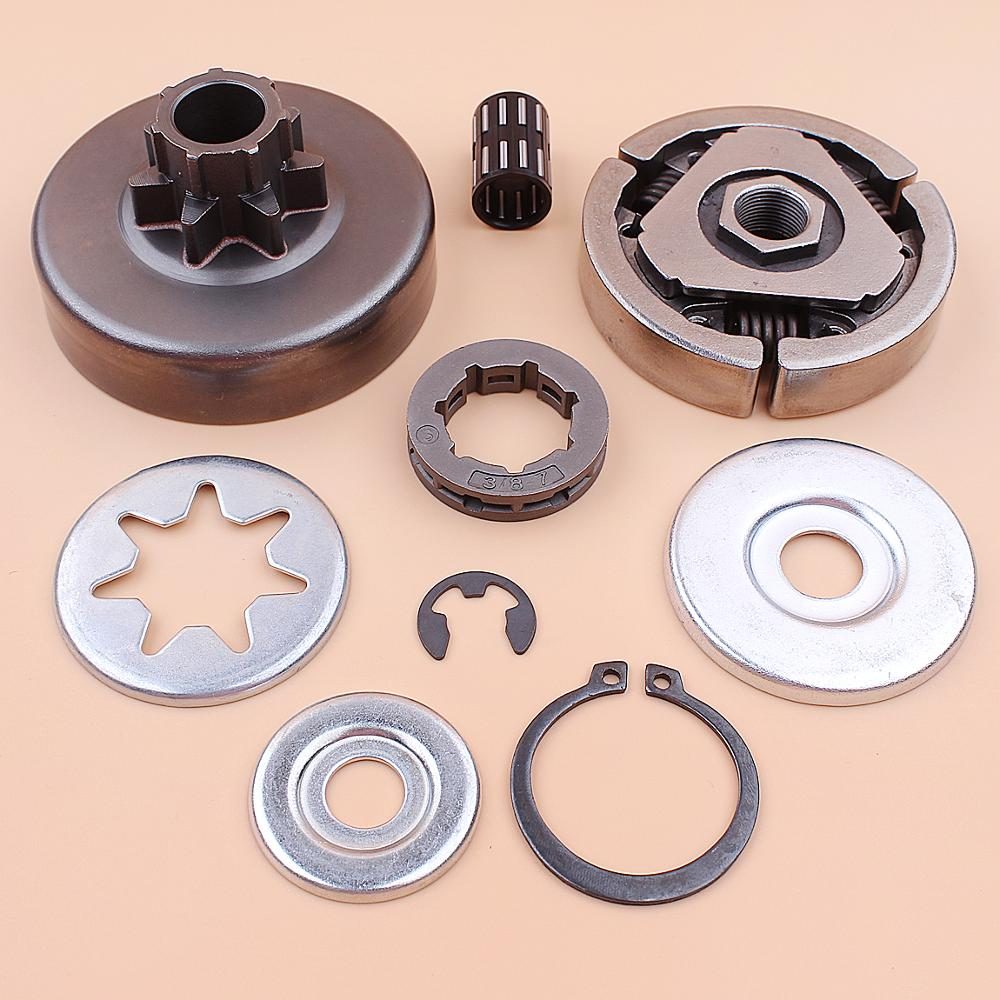 3 8inch Clutch Drum Sprocket Rim Bearing Washer Repair Kit For Stihl MS380 038 MS 380 Chainsaw 1119 0007 1003