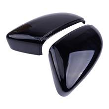 2pcs ABS Side Wing Rearview Mirror Cover Trim Cap Case 3C8857537 3C8857538 Fit for VW Golf 7 GTI R GTE GTD MK7(China)