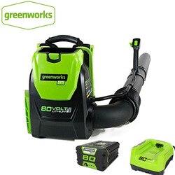 Ogrodowa dmuchawa żaluzjowa Greenworks Pro 80V 500 CFM DigiPro akumulatorowa dmuchawa żaluzjowa 80V 5.0ah ładowarka w Dmuchawy od Narzędzia na