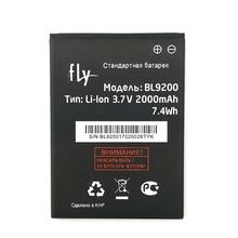 2pcs NEW Original 2000mAh BL9200 battery for FLY FS504 FS 504 cirrus 2 cirrus2 FS514 High Quality Battery+Tracking Number цена и фото