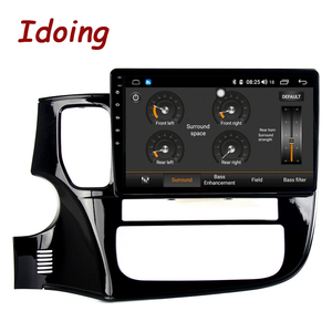 """Image 2 - Idoing 10.2""""4G+64G 8 Core Car Android Radio Multimedia Player Fit Mitsubishi Outlander 2014 2017 2.5D IPS GPS Navigation"""