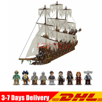 IN Stock 16016 3652PcsThe Flying Dutchman Pirate Ship The Netherlands Model Building Blocks Bricks Toys for Children Gift
