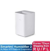 SMARTMI Evaporative Humidifier 2 for home Air dampener Aroma diffuser essential oil mist maker mijia APP Control