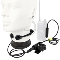 Micrófono de walkie-talkie U94 PTT, auricular táctico de Radio Nato para BF-A58 Baofeng UV-9R Plus GT-3WP UV-XR