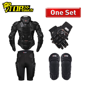 Image 1 - HEROBIKER Motorcycle Armor Protection Body Armor Protective Gear Motocross Moto Jacket Motorcycle Jackets With Neck Protector